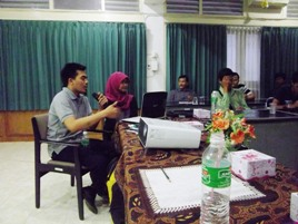 Lounching Bukapeta di Padang