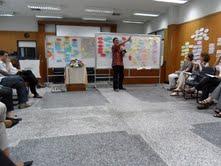 Kepala PPGT Geografi FMIPA-UI dalam kunjungannya ke Nanyang Tech. University (NTU)