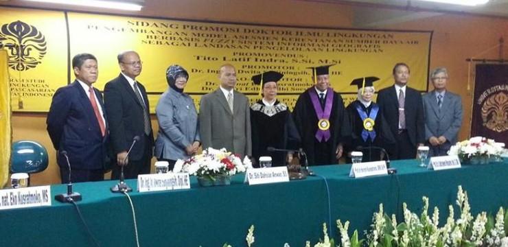 Selamat Atas Meraihnya Gelar DR. Tito Latief Indra