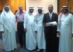 Selamat H. Kuswantoro Marko Lulus S2 di King Abdulaziz University Jeddah
