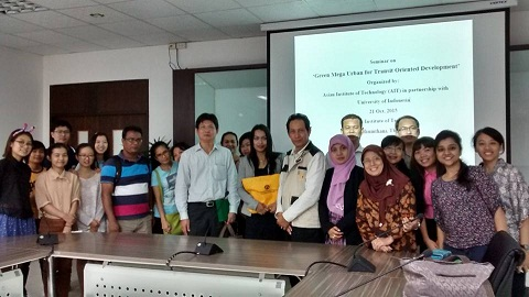 Seminar TOD & green mega urban Bangkok 2015