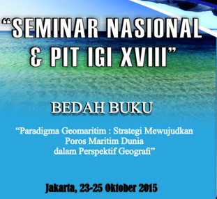 SEMINAR NASIONAL DAN PIT IGI XVIII (Univ. Negeri Jakarta)