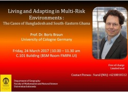 Kunjungan Prof. Boris Braun dan Lisa Bott (Univ of Cologne Jerman)