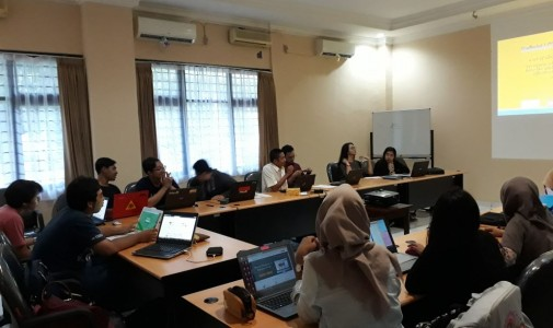 Pelatihan penelusuran literatur sci direct-scopus-mendeley (Departemen Geografi FMIPA-UI, Nov 2017