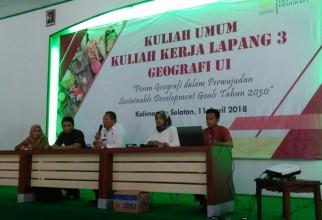Kuliah Kerja Lapang Geografi 3 di Banjarmasin