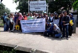 Kunjungan Lapang, Mata Kuliah Geografi Pertanian, Departemen Geografi FMIPA-UI, 2018