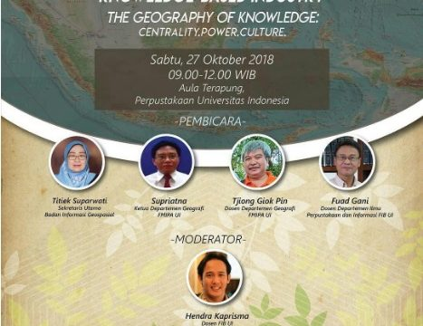 SEMINAR NASIONAL KNOWLEDGE – BASED INDUSTRY, 27 OKT 2018
